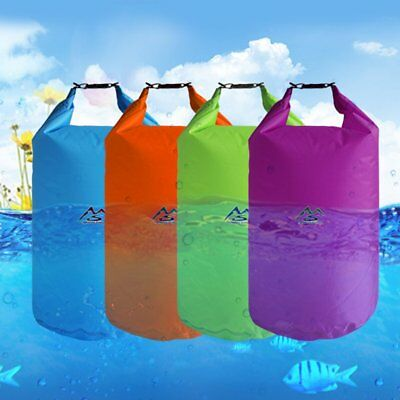 Outdoor Dry Waterproof Bag 5L Dry Bag Sack Waterproof Floating Dry Gear Bags U3