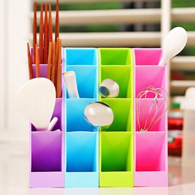 Desktop Storage Box Cosmetics Container Makeup Organizer Box For Home Office UK