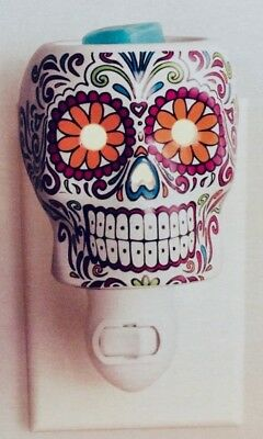 Sugar Skull Wax Warmer - Dia de los Muertos - Day of the Dead