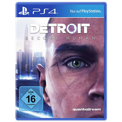 Sony Playstation 4 Detroit: Become Human PS4 NEU OVP USK16