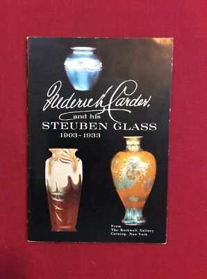 Frederick Carder & His Steuben Glass 1903 - 1933 SC 1968
