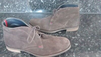 bb2f9d1f6 MEN S TOMMY HILFIGER Brown Suede Boots Size 7 - £14.50