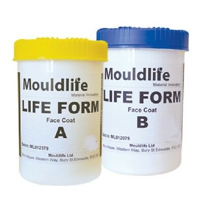 Life Form Skin Safe Silicone RTV Kit - Standard or Face Coat - 1kg Kit