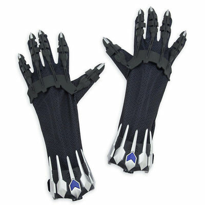 Disney Store BLACK PANTHER GLOVE SET BATTLE SOUND Marvel CLAW Infinity War 2018