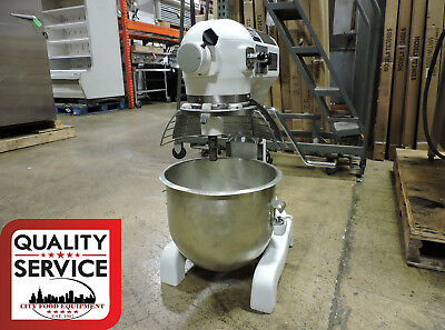 Hobart A200T Commercial 20 Quart Mixer w/ Bowl Guard & Timer