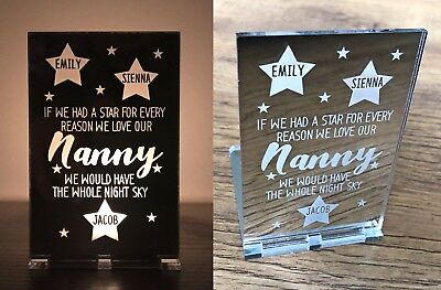 Personalised Mothers Day Gifts Her Mum Mummy Nanny Gran Nana  Candle Holder Gift
