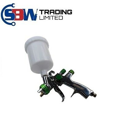 Resolut Professional LVLP Gravity Feed Spray Gun 1.8mm Nozzle 600ml Cup 8761