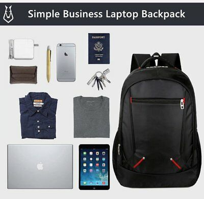 Anti Theft Large Laptop Backpack 15.6 Inch Business Bag Computer Water Resistant