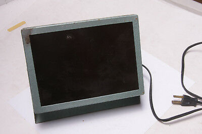 """Darkroom 5x7"""" Safelight Wall or Ceiling Mount Swivel Base w/Amber - USED F05"""