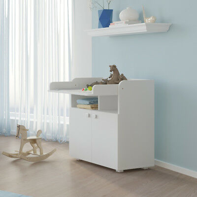Kidsaw Kudl Baby Changing Unit Infant Cupboard Table white 1270
