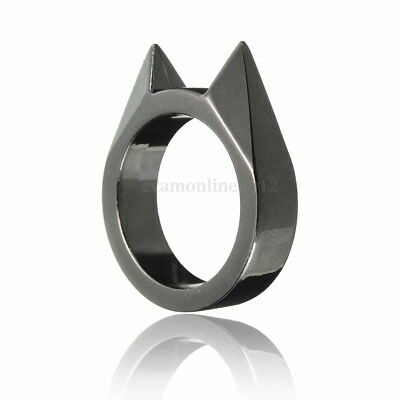 Gothic Style Spike Ring Twin Pack