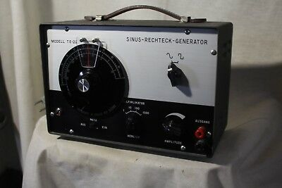 Model TE 22 Audio Generator bis 20 Khz..