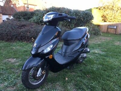 SOLD 2008 Peugeot V-clic vclic 50cc scooter SEE OTHER AUCTIONS SOLD