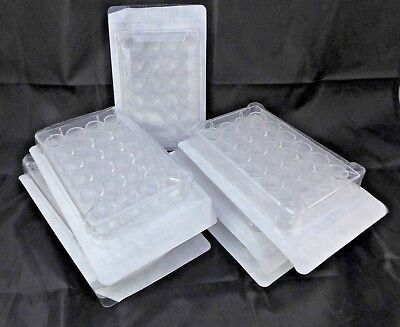 Qty 7 / TrueLine Cell Culture Plate, 24-well, sterile with lid, PS #TR5002