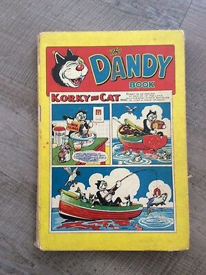 The Dandy Book. Annual from 1958. Hardback.