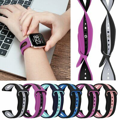 Silicone Replacement Band Sport Bracelet For Fitbit Versa Watch Strap Watchband