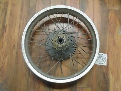 1986 Can-Am Ase 250 Rear Wheel 2.75 X 18 Sun Rim