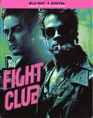 Fight Club - Limited Edition Steelbook [Blu-ray] New and Sealed!!!
