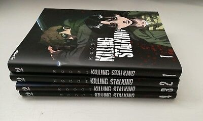 Killing Stalking vol 1-2-3-4 Miniserie Completa J-Pop Koogi Manga Manhwa Comic