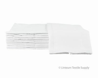 Linteum Textile (12-Pack) BABY DIAPERS Reusable Washable Birdseye Burp Cloth