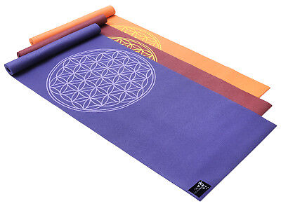 Yogamatte basic Flower of Life von Yogistar