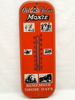 Rare Vintage Moxie Thermometer Soda Advertising Excellent Condition