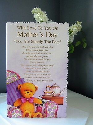 Wholesale Job Lot Large Mother's Day Cards Pack of 6 TRADE PRICE £7.50 Best Mum