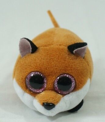 """TY Beanie Boos Teeny Tys 4/"""" FINLEY the Fox Stackable Plush Stuffed Animal Toy"""