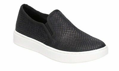 Sofft Somers Women Black Sneakers Slip In Size 8.5 Retail $79