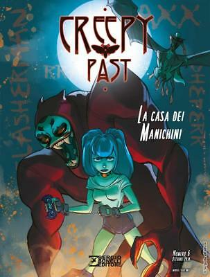 Creepy Past 6 - La Casa Dei Manichini - Fumetto Bonelli Italiano - Nuovo