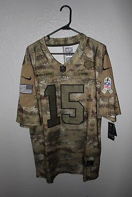 premium selection c4808 72e57 KANSAS CITY CHIEFS Camo Salute to Service Jersey #5 Mahomes (Adult M/L/XL)