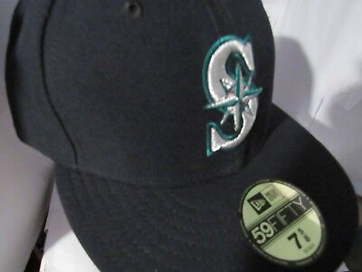 8fa68aba597 SEATTLE MARINERS NEW Era MLB Authentic Collection 59Fifty