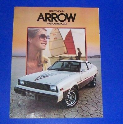 1979 Plymouth Arrow Sales Brochure