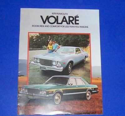 1979 Plymouth Volare Sales Brochure