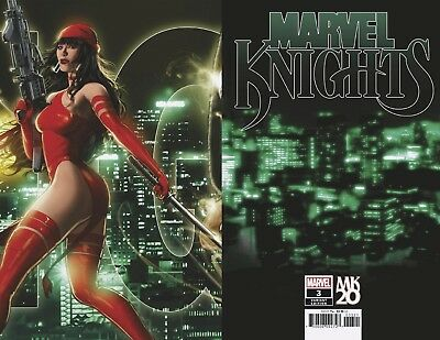 Marvel Knights 20Th #3 (Of 6) Kaare Andrews Connecting Variant (05/12/2018)