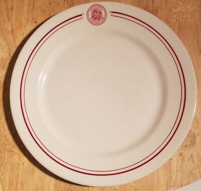 Vintage GE Advertising General Electric Athletic Association Plate  Mayer China