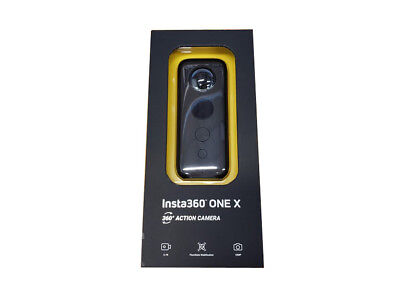 Insta360 ONE X 360 Degree Action Camera ( Black ) - 5.7K 30fps; 18MP