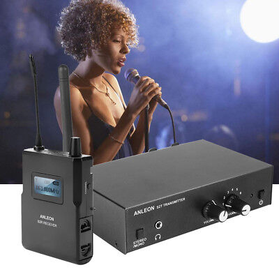 Wireless UHF In-ear Monitor System Stereo 863-865MHZ 670-680MHZ For ANLEON S2 SS