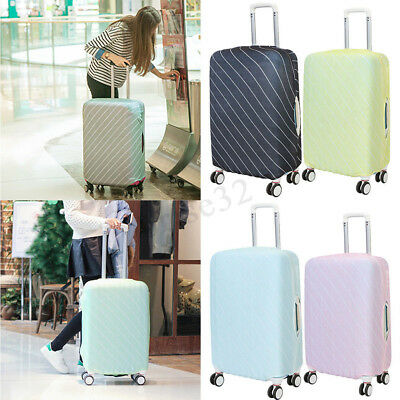 Elastic Travel Luggage Cover Protector 20-30'' Suitcase Dustproof Bag Suit Cover