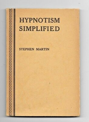 vintage, Hypnotism Simplified, a Practical and Easy guide to Mesmerism