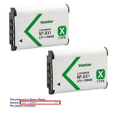 Kastar Replacement Battery for Sony NP-BX1 Cyber-shot DSC-RX100M6 (RX100 VI)