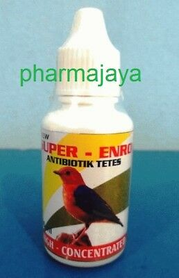 SUPER ENRO Antibiotics for birds for respiratory infections and digestion