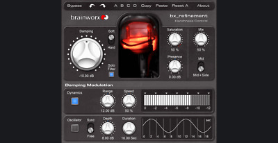 Plugin Alliance - Brainworx bx_refinement - Mastering Studio - unique M/S tool
