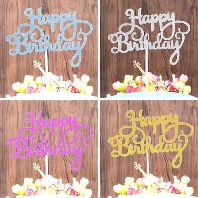 10Pcs Happy Birthday Cake Topper Dessert Cake Decorations Kids Party Decor HOT