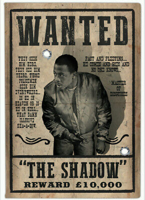 Only Fools and Horses Vas Blackwood The Shadow Wanted Poster 11x16 inch (Unsig)