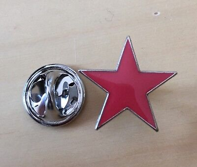 Roter Stern Pin / Anstecknadel Anstecker Badge red Star Antifa Punk TOP