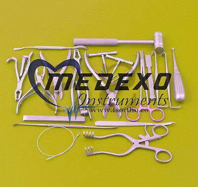 20 PCS Instruments Veterinary Orthopedic Pack Surgical