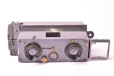 Camera stereo Verascope for Jules Richard model simplified 1908. 45x107