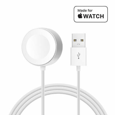 For Apple Watch/i Watch 1 2 3 Magnetic Charging Cable Wireless Charger Dock NEW