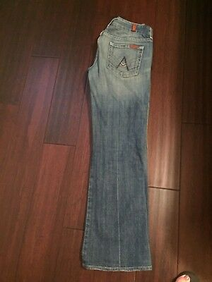 7 Seven For All Mankind A-Pocket Studded Size 30